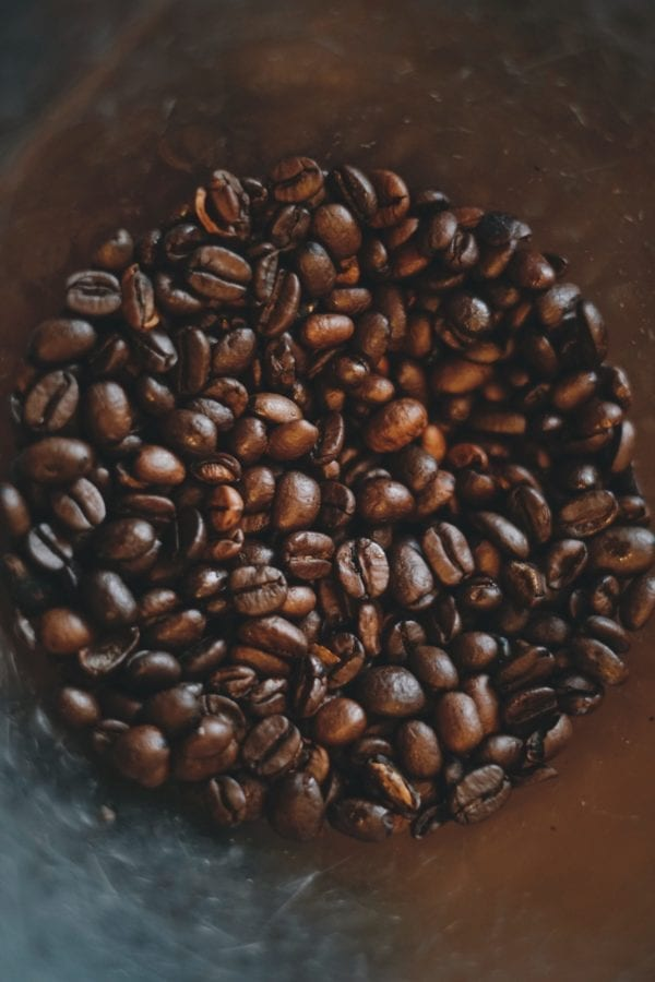 Coffee beans are healthy
