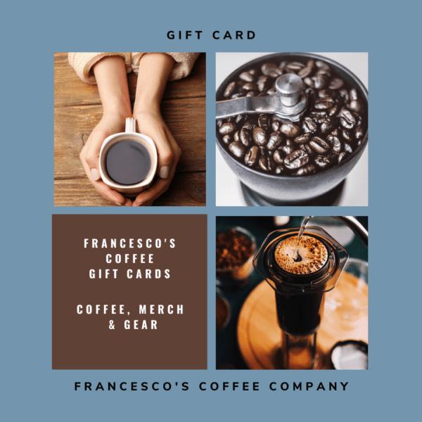 Coffee Gift Card